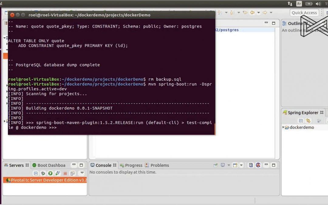 Continuum video: Docker
