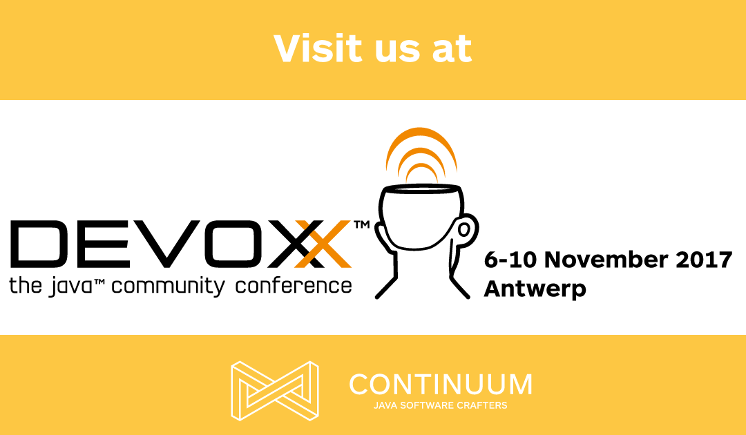 Continuum is proud to be a Devoxx 2017 sponsor