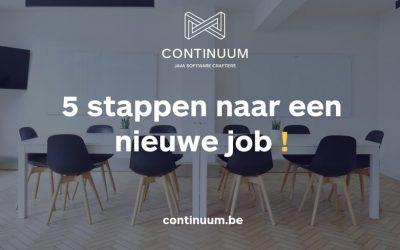 5 stappen naar een nieuwe job