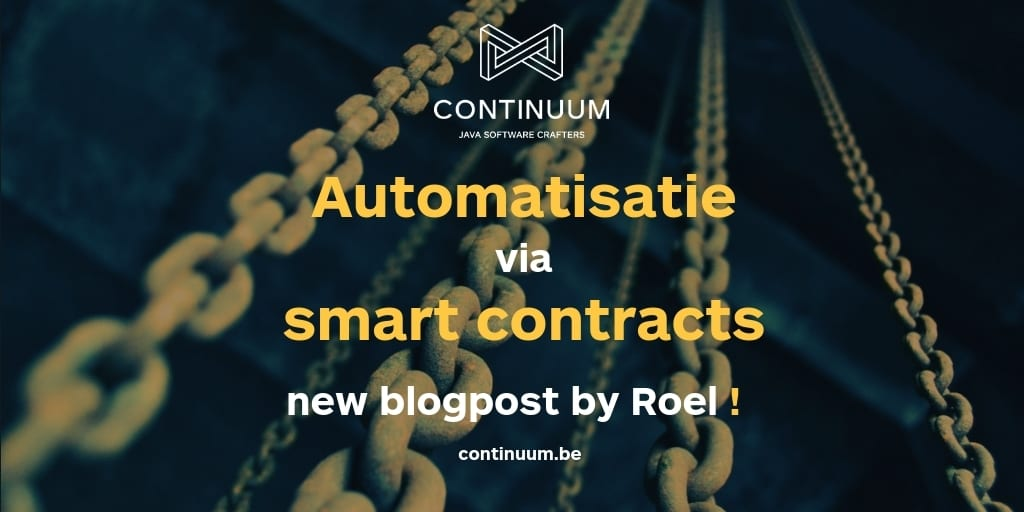 Automatisatie door smart contracts