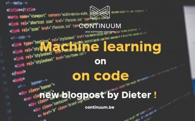 Machine learning on source code