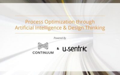 Event: Process Optimization through Artificial Intelligence & Design Thinking