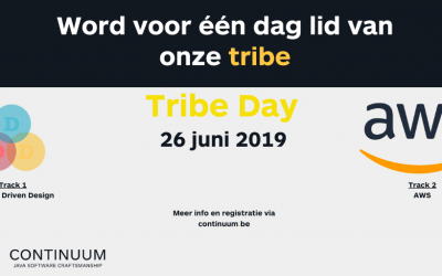 Tribe Day: Join us for a day!