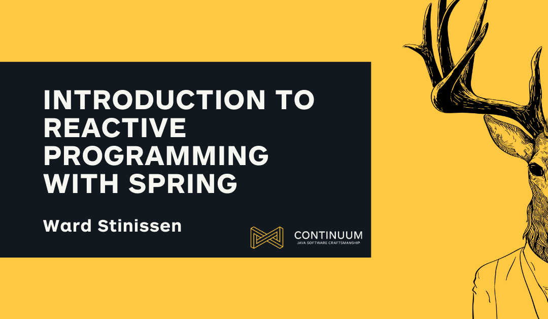 Introduction to reactive programming with Spring