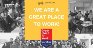 WE are a Great Place to Work