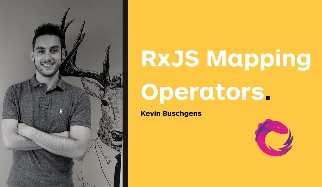 RxJS mapping operators