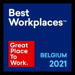 Great Workplaces Belgium Label 2021